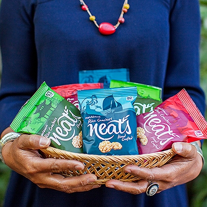 Neats Snacks Website About Us Image 3