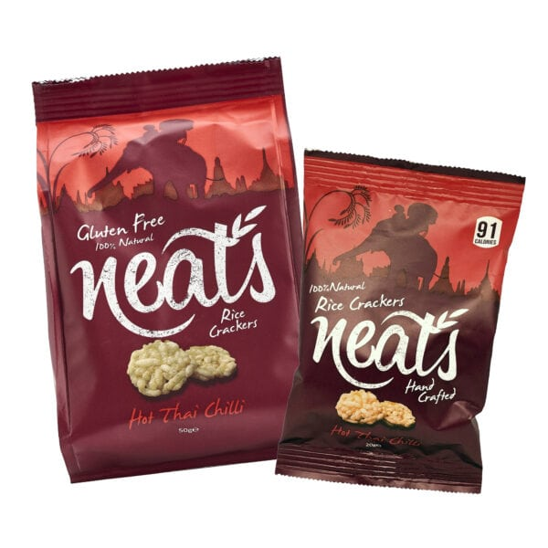 Neats Snacks Website Buy Now Page Thai Chilli Crackers Image
