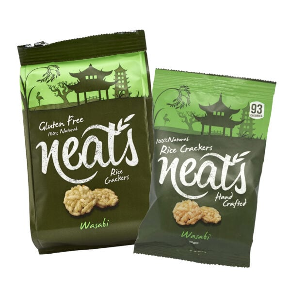 Neats Snacks Website Buy Now Page Wasabi Crackers Image